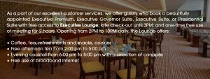 Exec Lounge Benefit content (Update for 01-01-2019)_EN